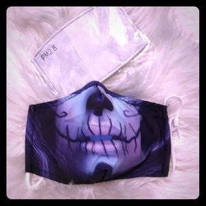 Accessories - Pastel Sugar Skull Mask with 2 Filters